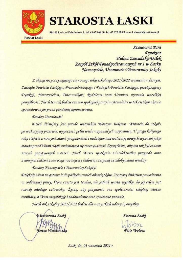 List starosty